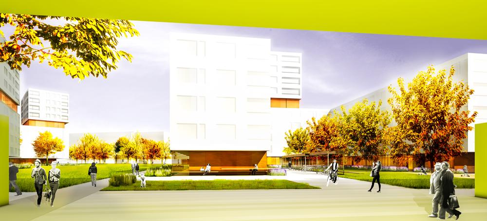 Staedtebau Wohnquartier Boschetsrieder Strasse