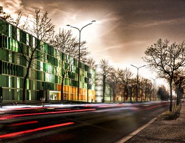 3D Visualisierung Wettbewerb Architektur Funkkaserne Nord, München