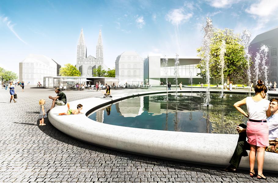 Landschaftsarchitektur Augustaplatz
