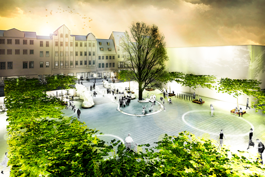Landschaftsarchitektur Eichplatz Jena
