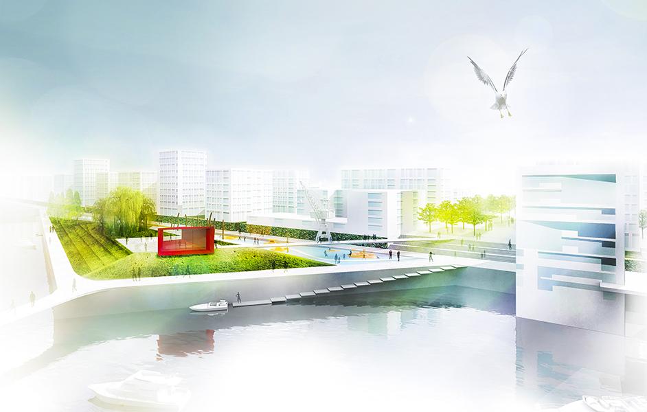 Landschaftsarchitektur HafenCity Hamburg