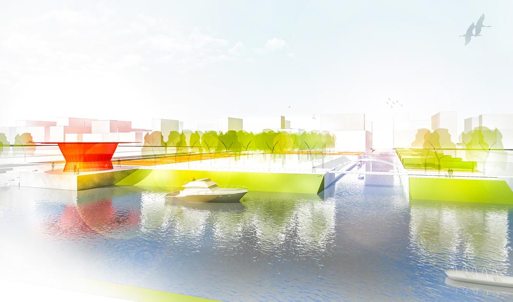 Landschaftsarchitektur Shanghai Canalpark